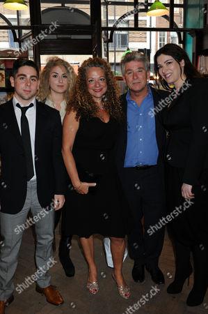 Guest, Francesca Humphries, Olivia Lichtenstein, Guest and Nigella Lawson