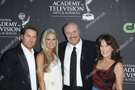 Jay McGraw, Erica Dahm, Phil McGraw and wife Robin