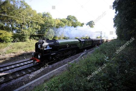 2009 Winton Train Full Speed Near Colchester Editorial Stock Photo Stock Image Shutterstock