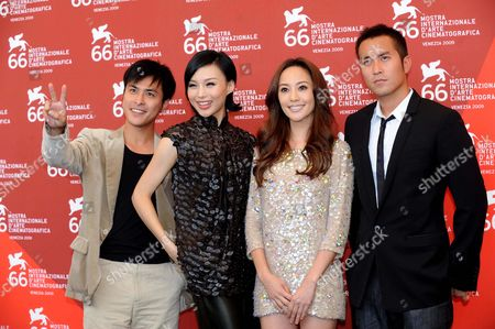 Fan Chih-Wei, Xuan Zhu, Terri Kwan and Joseph Chang