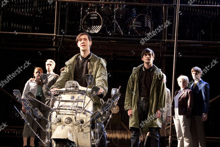 'Quadrophenia' - l-r: Lillie Flynn (Guardian Angel), Ryan Gage (Ace Face), Jack Roth (Jimmy / Lunatic), George Maguire (Jimmy / Tough Guy), Dawn Sievewright (Guardian Angel), Brennan Reece
