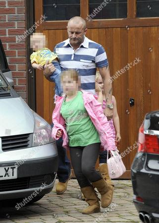 Mark Croft with children