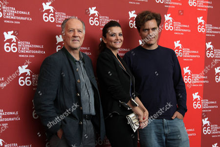 Stock Photo of Werner Herzog, Giulia Marletta and Michael Shannon
