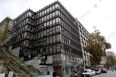 A general view of Open Society Foundations center of Hungarian philanthropist George Soros in Istanbul, Turkey, 27 November 2018. According to media reports, Open Society Foundations group said it will pull out of Turkey few days after Turkish President Recep Tayyip Erdogan reportedly accused George Soros of financing people to divide nations.
