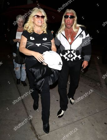 Stock Image of Duane Chapman and Beth Chapman at Craig's restaurant
