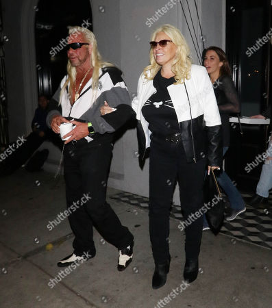 Duane Chapman and Beth Chapman at Craig's restaurant