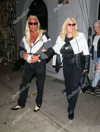 Stock Picture of Duane Chapman and Beth Chapman