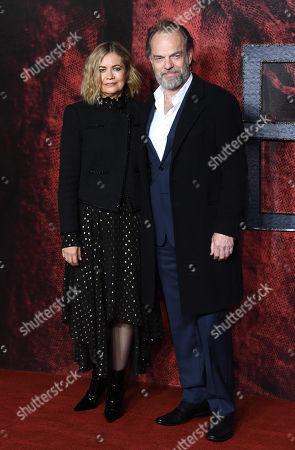 Hugo Weaving and Katrina Greenwood