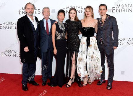 Hugo Weaving, Stephen Lang, Jihae, Hera Hilmar, Leila George and Robert Sheehan