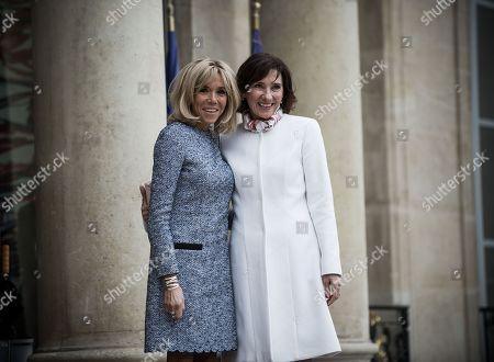 Brigitte Trogneux, Carmen Iohannis