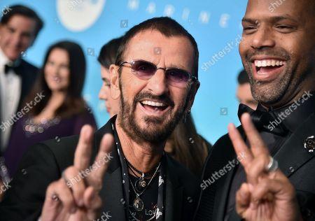 Stock Photo of Ringo Starr and AJ Calloway