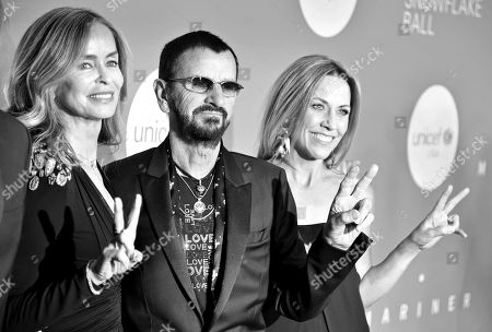 Stock Image of Barbara Bach, Ringo Starr and Sheryl Crow