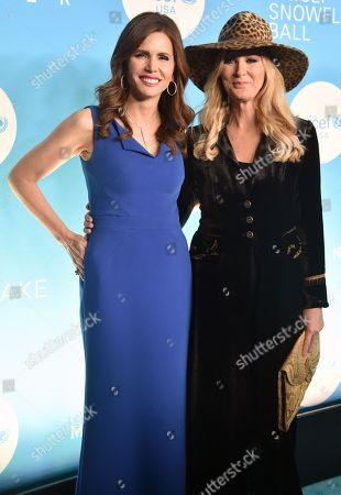 Desiree Gruber and Sandra Lee