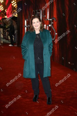 Stock Image of Philippa Boyens poses for photographers upon arrival at the premiere of the film 'Mortal Engines' in central London