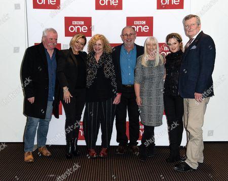 Sheridan Smith, Jimmy McGovern, Sinead Keenan, Marilyn Smith (mother of Sheridan), Sheridan's Auntie Linda, and others