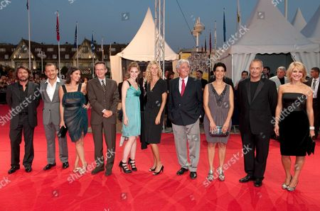 The members of the jury - French director and actor Bruno Podalydes, French actor and director Dany Boon, French director Patrice Leconte, French actress Geraldine Pailhas, French actress Deborah Francois, French actress and singer Sandrine Kiberlain, French screenwriter and writer Jean-Loup Dabadie, actress and director Hiam Abbass, French director and president of the jury Jean-Pierre Jeunet and Belgian actress Emilie Dequenne