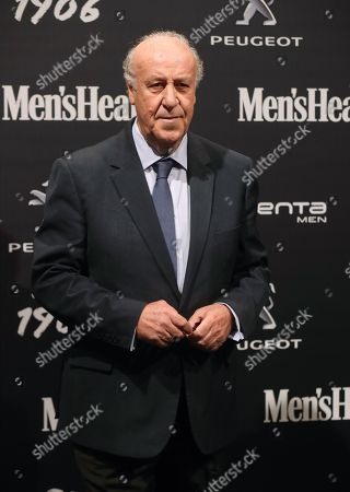 Spain's former national soccer team head coach Vicente Del Bosque poses for the photographers upon arrival to Men's Health Awards in Madrid, Spain, 27 November 2018.