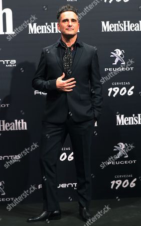 Jorge Drexler poses for the photographers upon arrival to Men's Health Awards in Madrid, Spain, 27 November 2018.