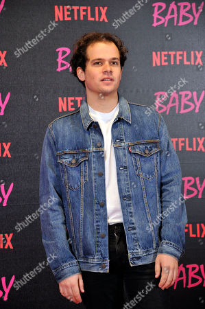 Editorial picture of Netflix 'Baby' TV series photocall, Rome, Italy - 27 Nov 2018