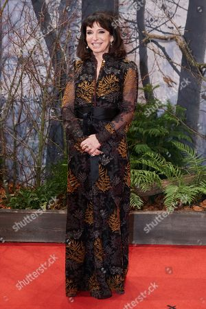 Susanne Bier poses as she arrives for the premiere of the movie 'Bird Box' at the Zoo Palast venue in Berlin, Germany, 27 November 2018.