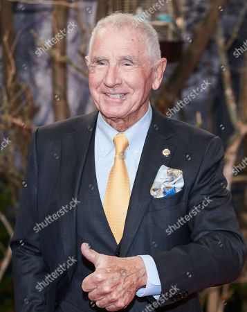US-German entrepreneur Frederic Prinz von Anhalt, widower of late actress Zsa Zsa Gabor, poses as he arrives for the premiere of the movie 'Bird Box' at the Zoo Palast venue in Berlin, Germany, 27 November 2018.
