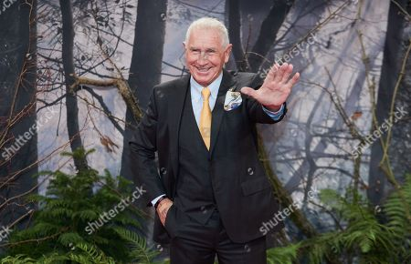 Stock Picture of US-German entrepreneur Frederic Prinz von Anhalt, widower of late actress Zsa Zsa Gabor, poses as he arrives for the premiere of the movie 'Bird Box' at the Zoo Palast venue in Berlin, Germany, 27 November 2018.
