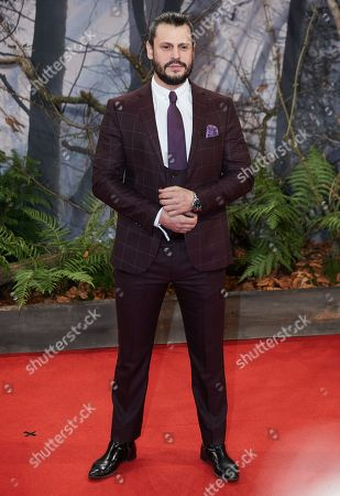 Manuel Cortez poses as she arrives for the premiere of the movie 'Bird Box' at the Zoo Palast venue in Berlin, Germany, 27 November 2018.