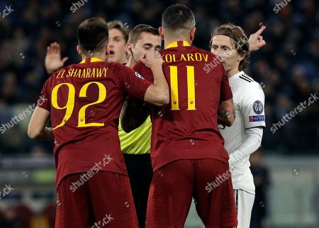 Editorial image of Soccer Champions League, Rome, Italy - 27 Nov 2018
