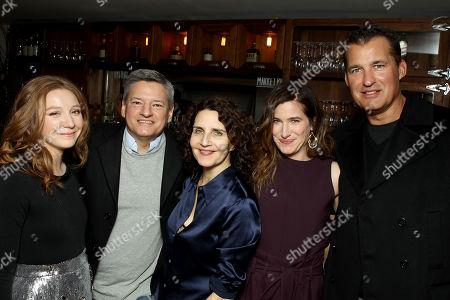 Kayli Carter, Ted Sarandos (Chief Content Officer Netflix), Tamara Jenkins (Director), Kathryn Hahn, Scott Stuber (Head of Original Films Netflix)