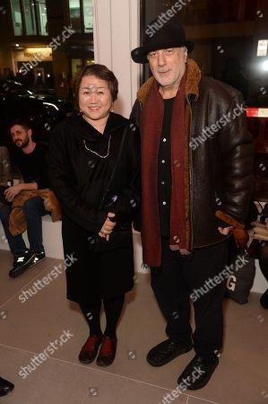 Chiharu Shiota and Ron Arad