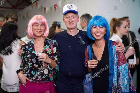 Karen Cardiff, Michael Landy and Poh Yap