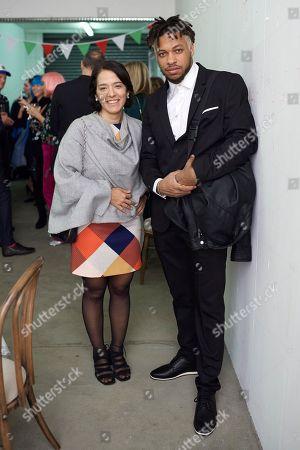 Silvia Morgado and Maxwell Alexandre