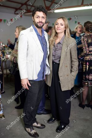 Stock Image of Conrad Shawcross and Carolina Mazzolari