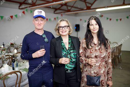 Stock Photo of Michael Landy, Caroline Douglas and Gillian Wearing