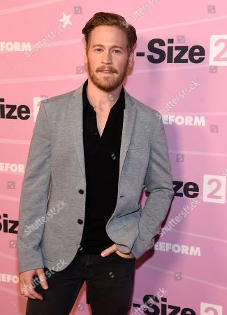 """Stock Image of Gavin Stenhouse arrives at the world premiere of """"Life-Size 2"""" at the Hollywood Roosevelt hotel, in Los Angeles"""