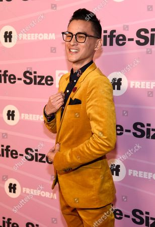 """Hank Chen arrives at the world premiere of """"Life-Size 2"""" at the Hollywood Roosevelt hotel, in Los Angeles"""