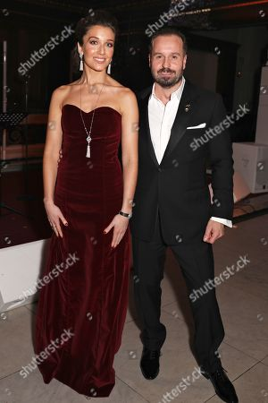 Stock Image of Carly Paoli and Alfie Boe