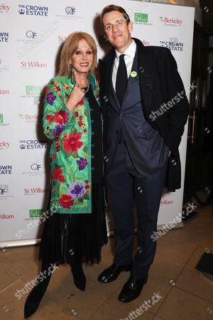 Stock Image of Ben Elliot and Joanna Lumley