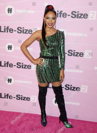Editorial image of 'Life-Size 2' film premiere, Arrivals, Los Angeles, USA - 27 Nov 2018