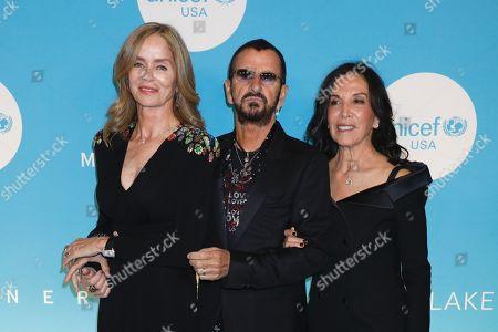 Barbara Bach, Ringo Starr, Olivia Harrison