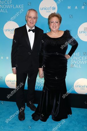 Ron Chernow and Caryl Stern, President & CEO U. S. Fund for UNICEF