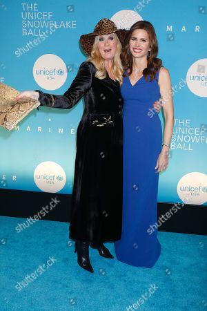 Sandra Lee and Desiree Gruber