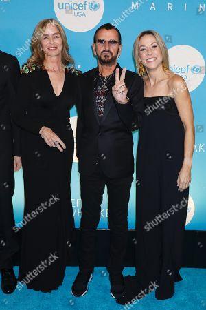 Barbara Bach, Ringo Starr, Sheryl Crow