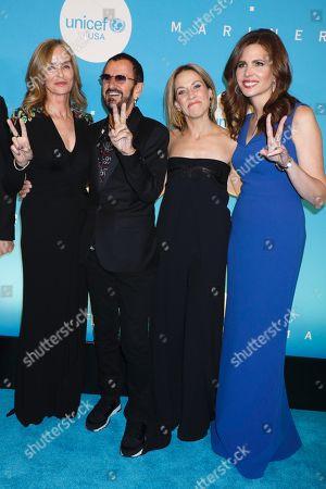 Barbara Bach, Ringo Starr, Sheryl Crow, Desiree Gruber