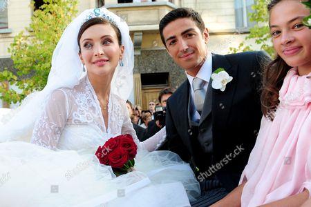 Prince Edouard Lamoral Rodolphe De Ligne and Isabella Orsini