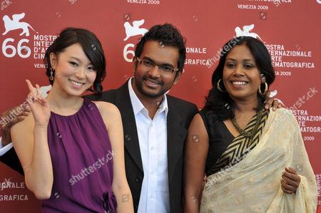 Huang Lu, Vimukthi Jayasundara and Kaushalya Fernando