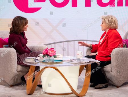 Lorraine Kelly and Barbara Taylor Bradford
