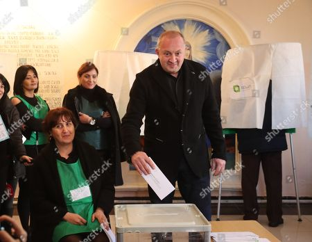 Editorial image of Presidential elections in Tbilisi, Georgia - 28 Nov 2018