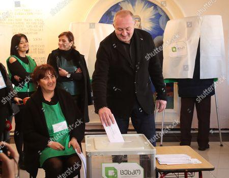 Editorial photo of Presidential elections in Tbilisi, Georgia - 28 Nov 2018