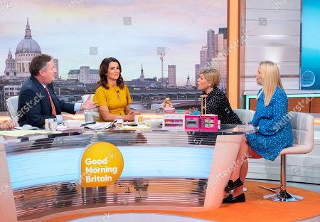 Piers Morgan, Susanna Reid, Emma B and Caroline Farrow